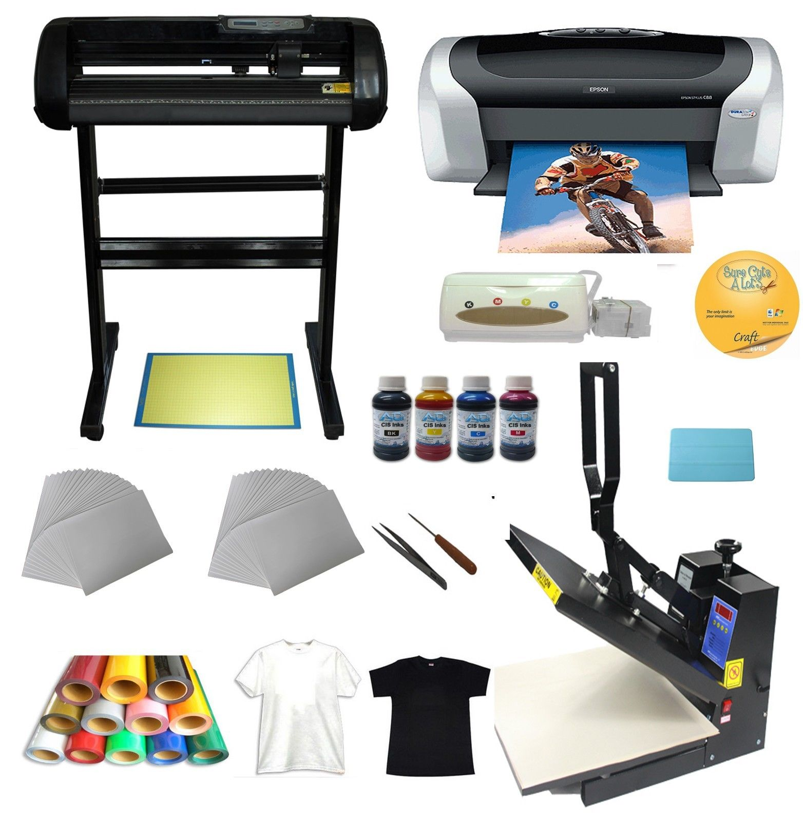 3d Vacuum Sublimation Heat Press Machine Ebay