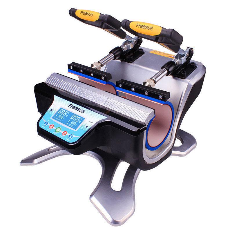 High Quality Mini Automatic Double Station Mug Heat Press