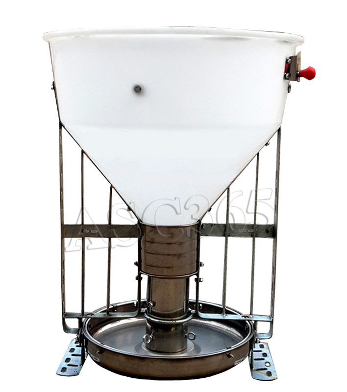 Gal automatic livestock feeder heavy duty stainless