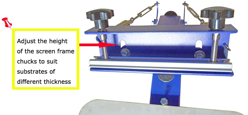 Table board fixed single 1 color 1 station t shirt screen for Single shirt screen printing